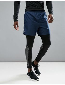 new-look-sport-shorts-in-navy by new-look