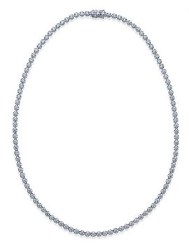 certified-diamond-tennis-necklace-(7-ct-tw)-in-14k-white-gold by macys