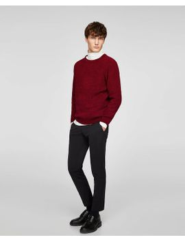 cropped-technical-pants--starting-from-50%-offsale-man by zara