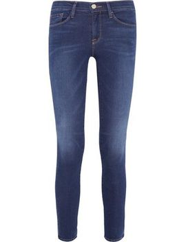 le-skinny-de-jeanne-mid-rise-jeans by frame