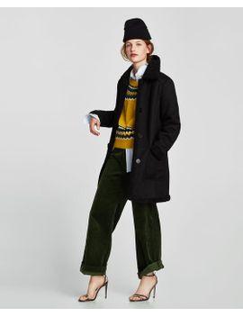 faux-suede-jacket by zara