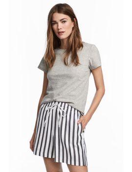 t-shirt-en-cachemire-mélangé by h&m