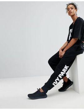 ivy-park-logo-sweatpants-in-black by ivy-park