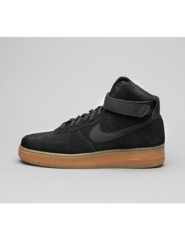 air-force-1-high-07-lv8-suede-trainer-|-black_gum by footasylum