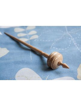 tibetan-style-spindle-|-supported-spindle-|-hand-made-support-spindle-|-hardwood-|-ash by etsy
