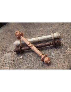 medieval-thread-spools-|-reenactment-|-hand-turned-|-reproduction-medieval-thread-bobbins by etsy