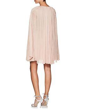 hand-pleated-silk-mousseline-dress by j-mendel