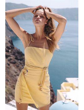 leon-multi-strand-dress by sabo-skirt