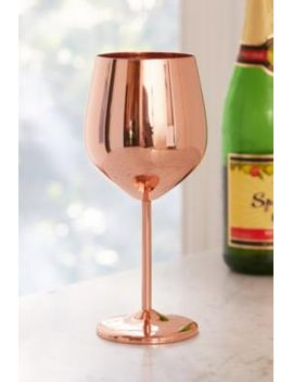copper-metallic-wine-glass by urban-outfitters