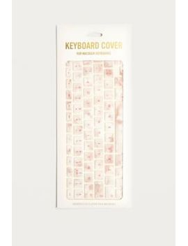 rose-quartz-keyboard-cover by urban-outfitters