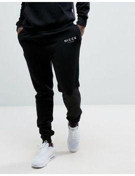 nicce-skinny-joggers-in-black by nicce-london