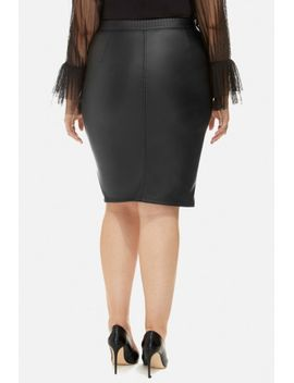 shadia-quilted-leather-pencil-skirt by fashion-to-figure