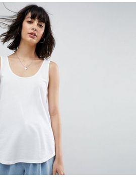 asos-design-ultimate-tank-in-white by asos-collection