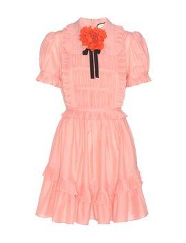 ruffled-cotton-dress by gucci
