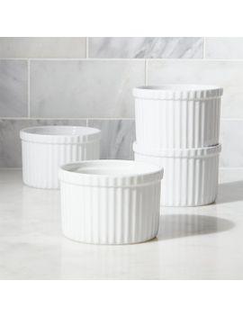 set-of-4-tall-ramekins by crate&barrel