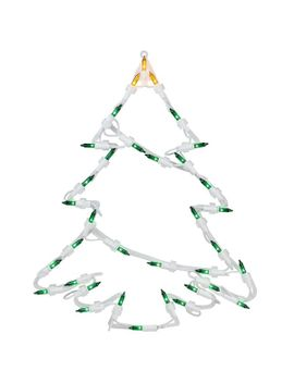christmas-tree-window-silhouette-decoration-lighted-display by the-holiday-aisle
