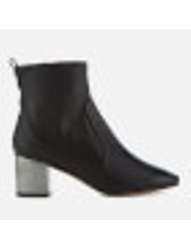 carvela-womens-strudel-leather-heeled-ankle-boots---black by allsole