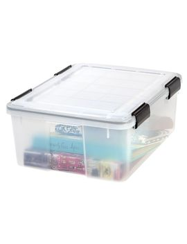 30-qt-weather-tight-storage-box-in-clear by iris