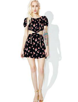 cherry-waist-cut-out-dress by for-love-&-lemons