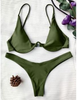 popular-push-up-plunge-bathing-suit---green-s by zaful