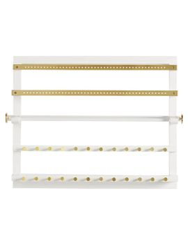elle-lacquer-wall-jewelry-organizer by pbteen