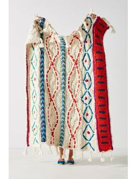 hand-knit-pippa-throw-blanket by anthropologie