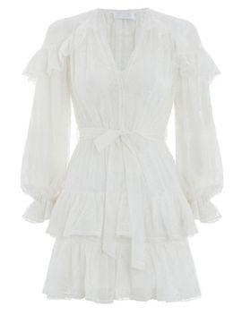 lovelorn-frill-dress by zimmermann