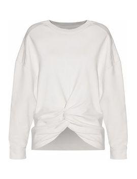 twist-front-cotton-terry-sweatshirt by iro