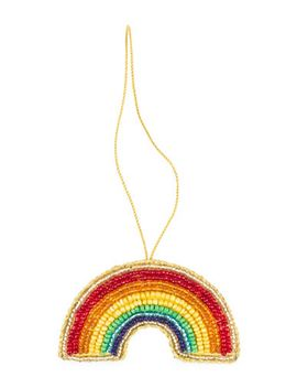 rainbow-embroidered-ornament by drake-general-store