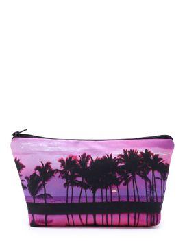palm-tree-print-makeup-bag by sheinside