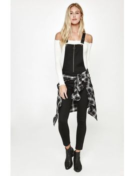 honey-black-overalls by pacsun