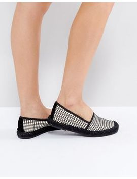 selected-–-espadrilles-mit-geometrischem-muster by selected