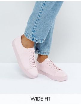 asos-–-daltrey-–-geschnürte-sneaker-in-weiter-passform by asos-collection