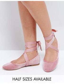 asos-–-lorita-–-flache-ballerinas by asos-collection