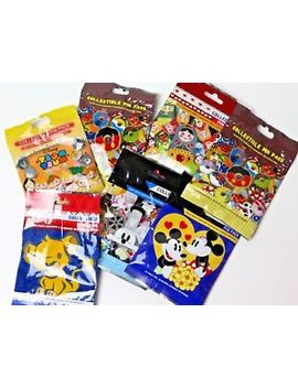 disney-*-mickey-ears-icons-*-5-packs-*-new-5-pin-collectible-mystery-pack-pins by ebay-seller