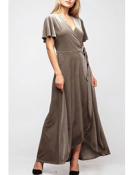velvet-wrap-dress by pretty-little-things,-new-hampshire