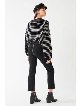 bdg-kick-flare-high-rise-cropped-jean-–-zipper-back by bdg