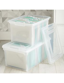 clear-stackable-file-tote-boxes by container-store