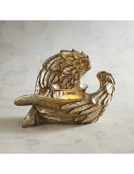 golden-angel-wings-tealight-candle-holder by pier1-imports