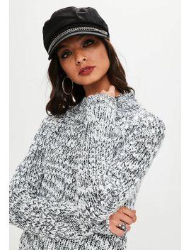 gray-slub-yarn-sweater by missguided
