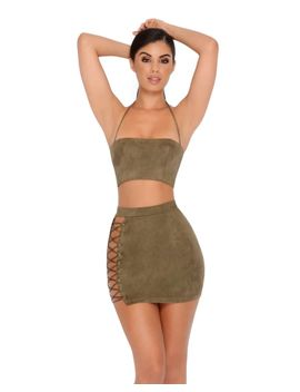 stud-up-cut-out-wrap-two-piece-set-in-khaki by oh-polly