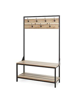 chatham-house-cascade-entryway-bench-in-rustic-brown by bed-bath-and-beyond