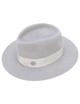 chapéu-fedora-com-faixa by maison-michel