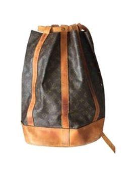 randonnée-leather-backpack by louis-vuitton