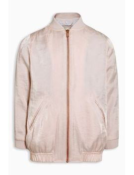 pink-longline-bomber-(3-16yrs) by next