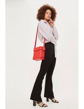 black-flared-jamie-jeans by topshop