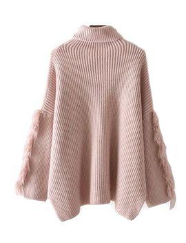 lara-fringe-sleeve-turtleneck-sweater-(3-colors) by goodnight-macaroon