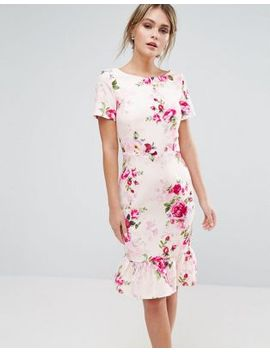 paper-dolls-printed-midi-dress-in-floral by paper-dolls
