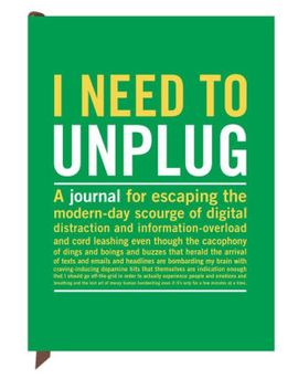 i-need-to-unplug-journal by knock-knock