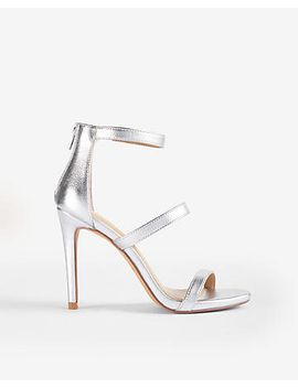 metallic-heeled-sandals by express